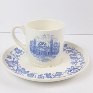 Monticello Wedgewood cup and saucer